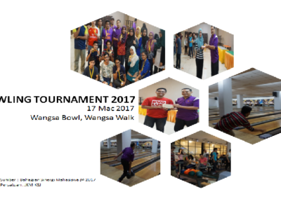Bowling Tournament 2017